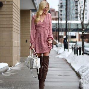 Like New Lush Wrap Dress Size XS